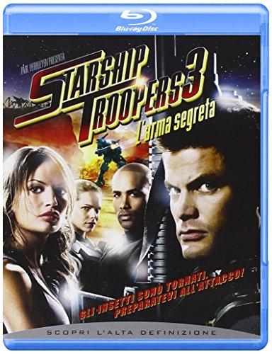 Starship troopers 3 - L'arma segreta [Blu-ray] [IT Import]