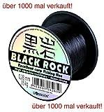 ROBINSON® BLACK ROCK Angelschnur monofile Sehne Karpfen - 7 Stärken, Schnurstärken:600m / 0.260mm / 13kg