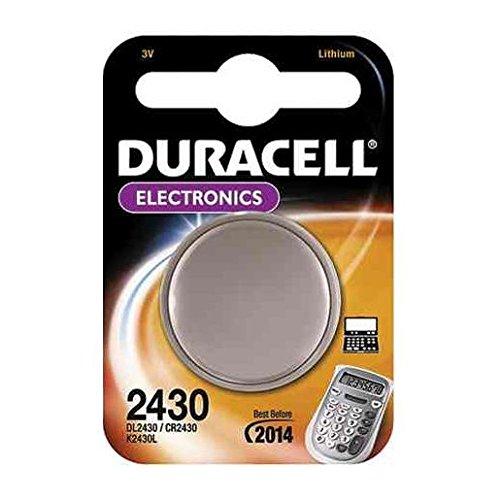 MEXXTRONICS Lithium pile bouton Duracell DL2430 1er Blister 3V Lithium