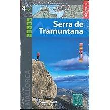 Serra de Tramuntana, mapas excursionistas impermeables. 4 mapas. Escala 1:25.000. Español, Català, English, French, Deutsch. Alpina Editorial. (Waterproof Maps)