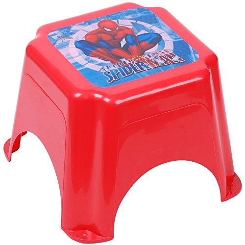 Disney - Trittschemel Hocker Rutschfest Kinder Evier Marvel Spiderman