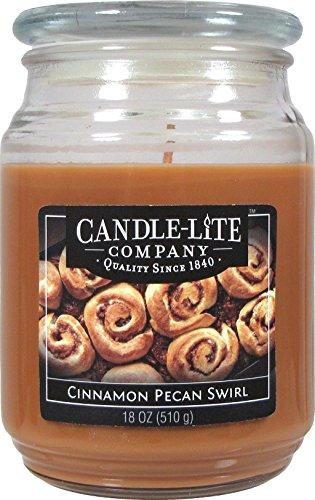 Scheda dettagliata Candle-Lite Company Candle-Lite Candela Profumata Apple Cinnamon, gr 510, Beige