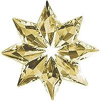 Sedeta® couleur transparente Décoration de Noël en cristal de flocon de neige Ornement accrochant de suspension de camion de voiture