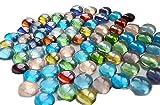 KAYKON Decorative Glass Pebbles (80pc) v...