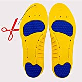 #8: Premium Memory Foam Insoles for Walking with Comfort Men/Women