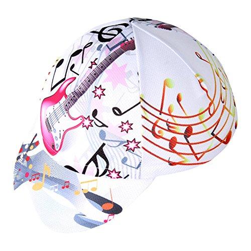 Hysenm copricapo taglia unica cap con visiera permeabile all' aria per sport tappo ruota cappello, uomo, musik