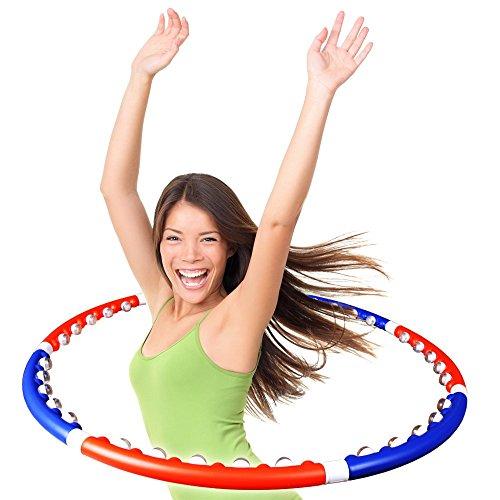 ScSPORTS Hula Hoop Massage Reifen Bauchtrainer -