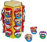 WOM BPOP Mix Tower Taste Your Mood Schnuller-Lutscher mit verschiedenen witzigen Designs, 360 g
