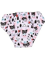 Stylish réutilisables lavables couches de bain Nappies de natation pour les bébés unisexe 2-3 ans, # 14