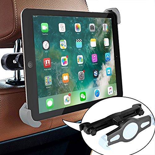 Ipad Halter Auto Kopfstütze,Tablet Kopfstützenhalter,Soyion Universal-Auto-Kopfstütze Halterung Rücksitz Kopfstütze Halterung Einstellbare Halter Für 6 - 11 Zoll Smartphone & Tablet - Apple iPad,iPad Pro 9.7',iPad4(iPad 2&3),iPad Air(iPad5),iPad Mini 4 - Samsung Galaxy Tab 2,Galaxy Tab 3,Galaxy Note - Google Nexus 7,10 und Andere