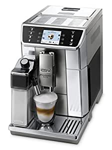 """DeLonghi Primadonna Elite ECAM 656.55.MS Kaffeevollautomat (1450 W, 3,5"""" TFT-Farbdisplay, integriertes Milchsystem, APP Steuerung, Edelstahlfront, 2-Tassen-Funktion) silber"""
