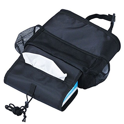 Preisvergleich Produktbild ETGtek 3pcs Universal-Auto-Sitzfahrzeug Keep Warm Kalt Marke Lagerung schwarze Tasche Box Organizer