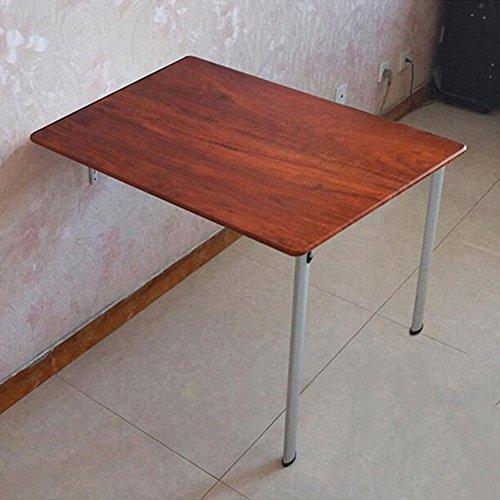 Tische MEIDUO Klapptisch Wandtisch Wandtische Esstisch Computer Schreibtisch Studie Tabelle in 3 Farben 2 Größen Optional Computertisch (Farbe : B, größe : 74*60*74CM)