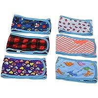 Pañales para cachorro macho pequeño, banda para la cintura con velcro, lavables, reutilizables, (paquete de 4)