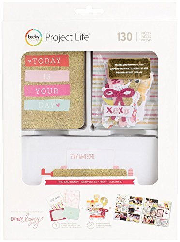 American Crafts Project Life Value Kit 130/Pkg-Fine & Dandy
