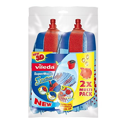 Vileda SuperMocio 3 Action Refill - Twin Pack