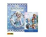 Panini Verlag DIE EISKÖNIGIN: Mein ELSA-Freundebuch (Gebundene Ausgabe) + 1. Frozen Button