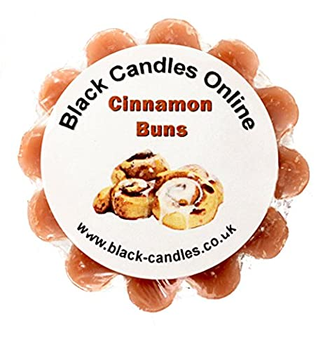 Black Candles Wax Tart Melt - Cinnamon Buns Fragrance