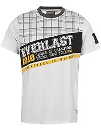 Everlast - T-Shirt Homme Taille S (Correspond À Du M) - Blanc