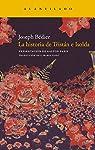 La historia de Tristán e Isolda par Bédier