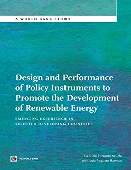 Design and performance of policy instruments to promote - Gabriela elizondo ...
