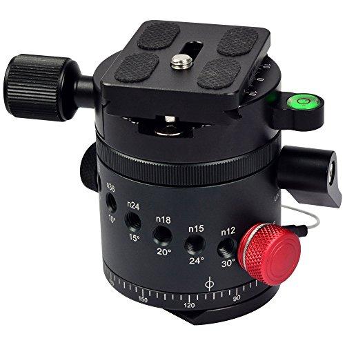 MENGS® DH-55 Indizierung Kamera Kugelkopf für 1/ 4
