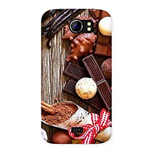 Gorgeous Chocolate Candies Multicolor Back Case Cover for Micromax Canvas 2 A110