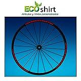 Ecoshirt 9F-KQ4W-ZMIB Aufkleber Felgenaufkleber Rim Raceface 27,5' Am51 Bike MTB Downhill, Rot 26'