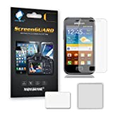 Membrane 6 x Pellicola Protettiva compatibile con Samsung S7500 Galaxy Ace Plus - Antiriflesso (Opaca), Antigraffio Protezione Schermo, Con la Confezione Originale