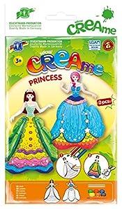 Feuchtmann Juguetes 6340703 - Klecksi Creame Princesa, 3D - Colorear, Motif Azul / Verde