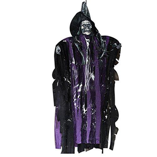 (Stimme Steuerung Halloween Leinen Ghosts Elektrische Induktion Geister Horror Requisiten Für Spuk Haus Room Escape Hängende Geister Dekoration)