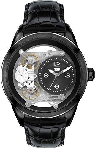 Storm London TIRANSON 47235/SL Mens Wristwatch Open Balance Spring