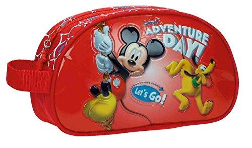 Disney Adventure Day Neceser de Viaje, 3.36 Litros, Color Rojo