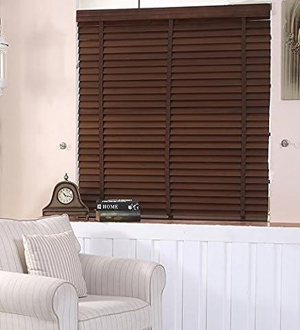 LIQICAI Double fonction Roller Blinds Pull String, couleur du café, 3 tailles disponibles ( Couleur : Model A , taille : 80 x 160 cm-2 Set )