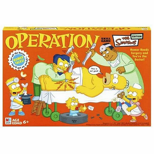 Click for larger image of Operation Simpsons