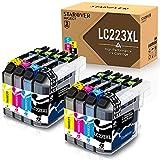 STAROVER 8 Kompatibel Druckerpatrone für Brother LC223 XL LC223XL Tintenpatronen für Brother DCP-J4120DW J562DW MFC-J4420DW J4425DW J4620DW J4625DW J5320DW J5620DW J5625DW J5720DW J480DW J680DW J880DW