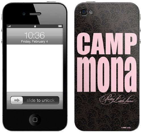 Zing Revolution Pretty Little liarspremium Vinyl Selbstklebende Schutzfolie für iPhone 4/4S, Camp Mona (ms-pll100133)