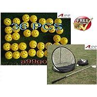 A99 Golf Übungsnetz / Chipping-Netz mit 36 Übungsbällen