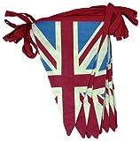 Retro Vintage Union Jack Double Sided Textile Bunting