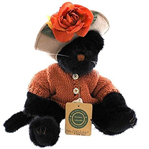 Boyds Bears Plush MRS PARTRIDGE 919750 Halloween Black Cat by