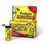 PREBEN 231277 - Tira atrapa-moscas 4 un, 9.1 x 11 x 2.2 cm, color amarillo