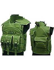 Airsoft combate Paintball uniforme Militar Gear s.d.u versión 4Nylon chaleco od