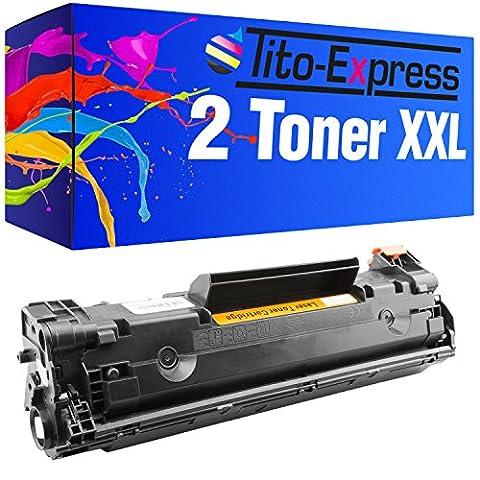 PlatinumSerie® 2 Toner-Patronen XL Schwarz für HP CE285A 85A Laserjet M1130 MFP M1132 MFP M1136 MFP M1210 MFP M1212 NF P1002 P1002 W P1002 WL P1100 P1101 P1102 P1102 W P1103 P1104 P1104 W P1106 P1106 W P1108 Laserjet Pro M1132 M1136 M1212 P1100 P1101 P1102 P1103 P1104 P1104 W P1106 P1106 W P1108