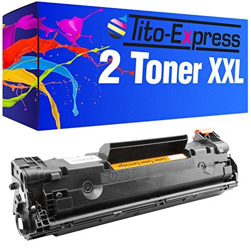 PlatinumSerie® 2x cartucho de tóner compatible con HP CE285A 85A LaserJet P 1100 Series 1101 1102 1102 W 1103 1104 1104 W 1106 1106 W 1108 1108 W 1109 1109 W 1138 MFP 1139 MFP P1200 Series 1210 Series