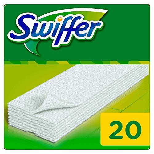 Lingettes sèches pour le balai Swiffer Sweeper, 20unités