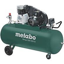 Metabo Mega 520-200 D - Compresor 4 CV 200 litros correas trifasico