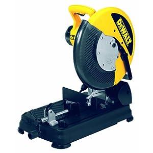 51GDYG3KZeL. SS300  - Dewalt DW872-QS Tronzadora de Corte rápido 2.200W-diámetro de 355 mm 1.300 RPM Disco Pastilla, 220 V, Negro y amarillo