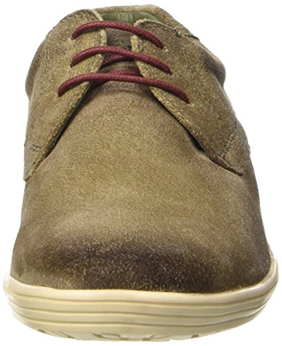 Base London Concert, Chaussures lacées homme Marron (Greasy Taupe)