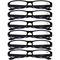 1056e527e4 6 PRS of Southern Seas Stylish Black +0.50 Reading Glasses Mens Womens  Spectacles Readers