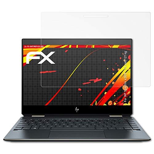 atFolix Schutzfolie kompatibel mit HP Spectre x360-13-ap0121ng Bildschirmschutzfolie, HD-Entspiegelung FX Folie (2X)